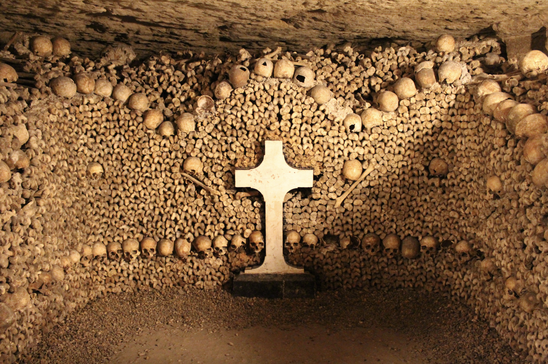 Catacombs of Paris France