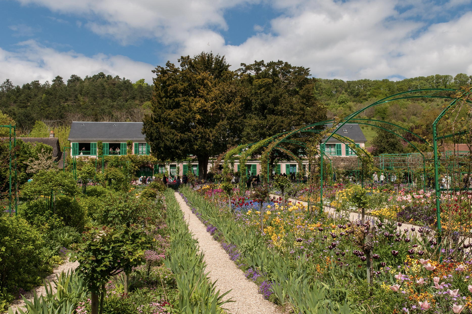 Monet's house and gardens in Giverny France
