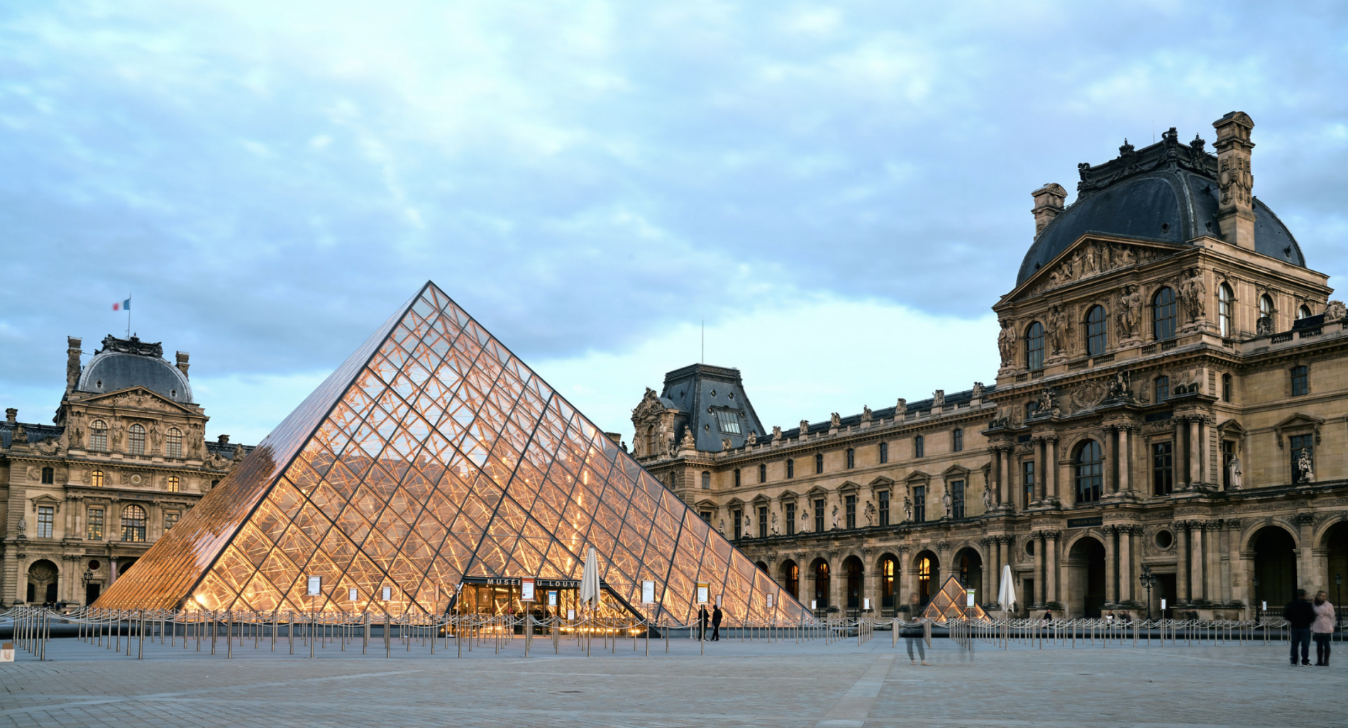 The Louvre museum Paris France