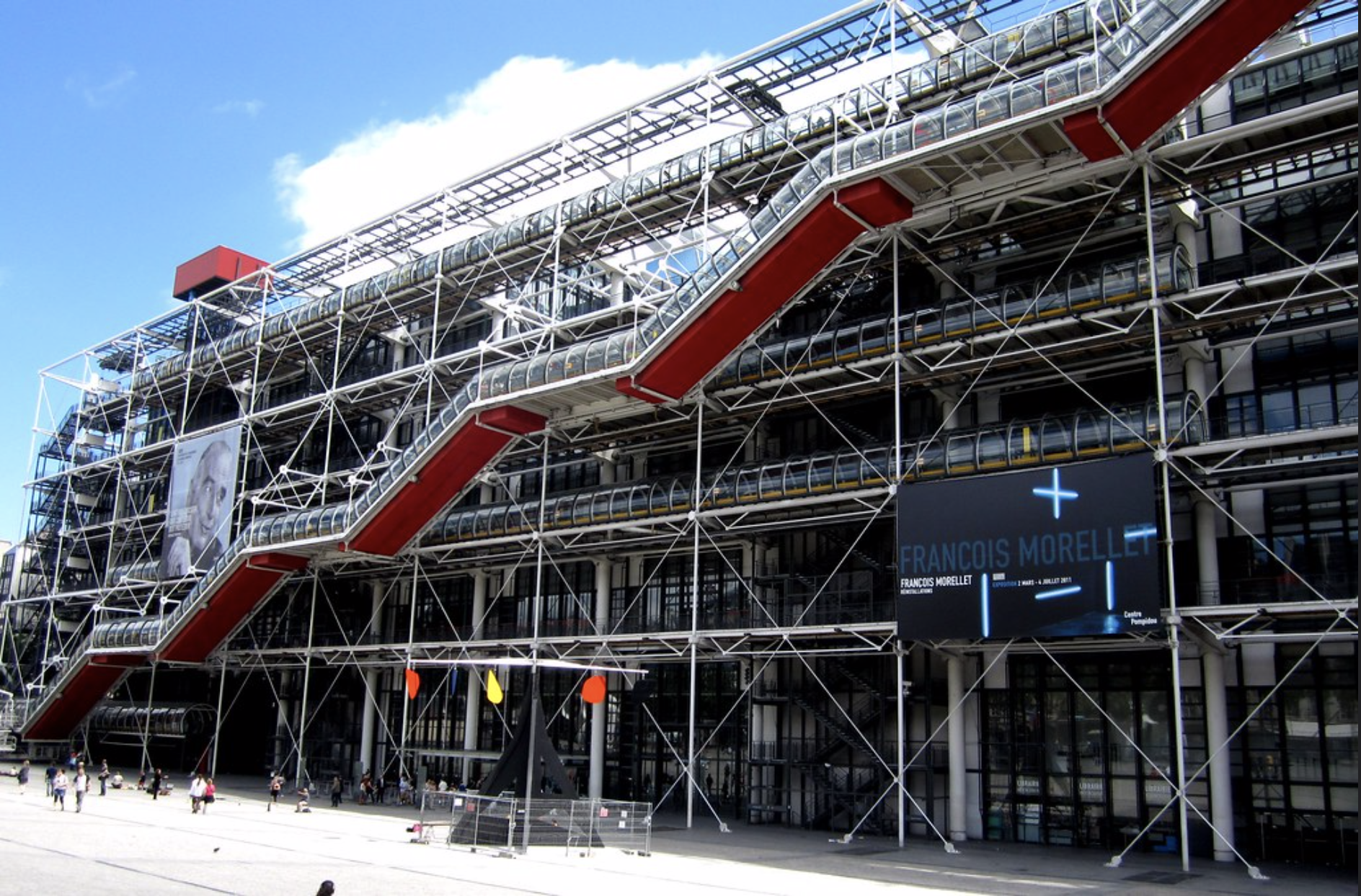 Centre George Pompidou Paris France musée