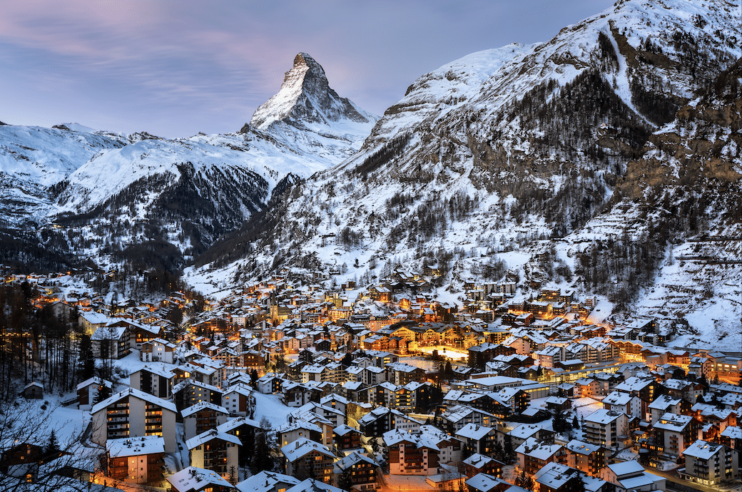 Zermatt cities in switzerland