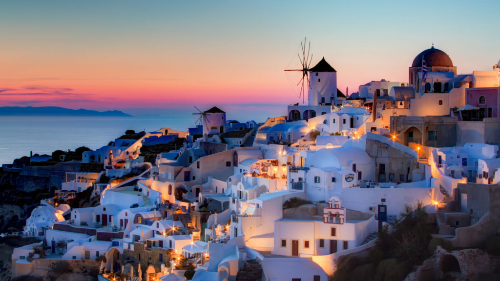 honeymoon in greece